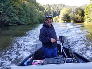 Chinook Salmon Guided River Trip