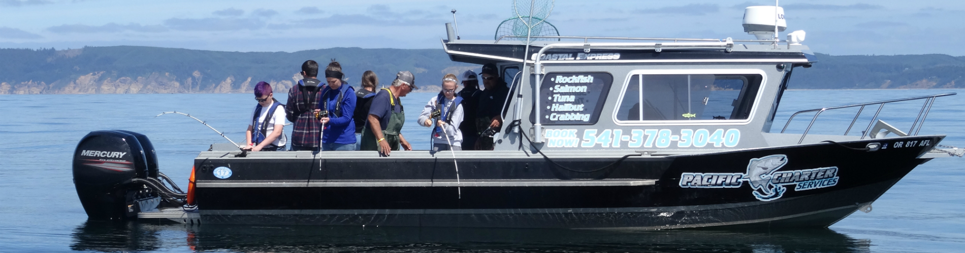 Pacific charter services guided fishing trips for Coos bay fishing charters
