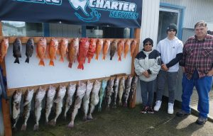 Big Lings and Rockfish in Deep Water