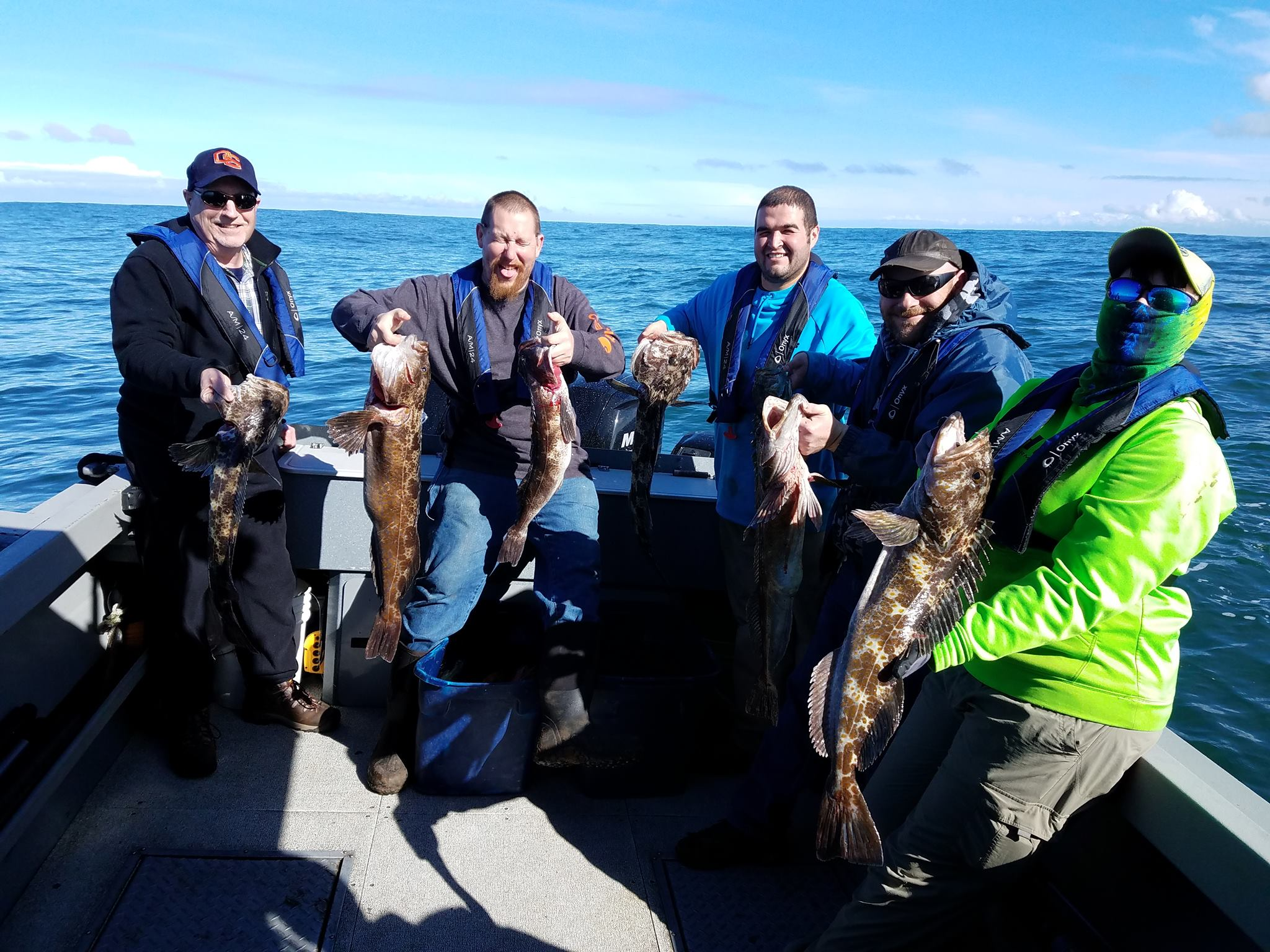 Great Catch of Trophy Lingcod