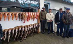 Family fun includes limits of fish