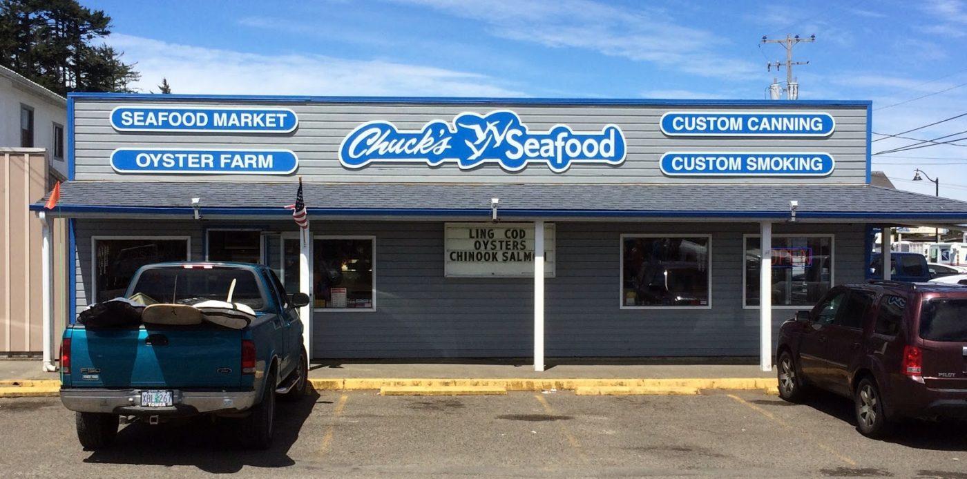 chucks Seafood Charleston