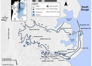 South Slough Trail Map